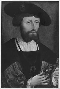 Portret van Christiaan II, koning van Denemarken (1481-1559)