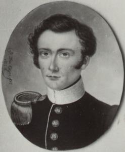 Portret van Jacob Jan Alexander Creyghton (1800-1858)
