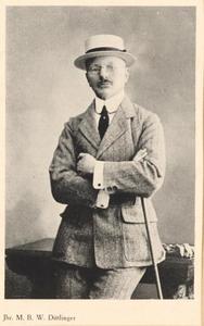 Portret van Jhr. Marinus Bonifacius Willem Dittlinger (1864-1942)