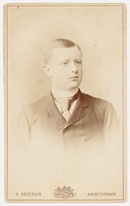 Portret van Willem Frederik Roell (1870-1942)