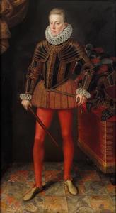 Portret van Matthias II van Habsburg (1557-1619)  later keizer van het Heilige Roomse Rijk