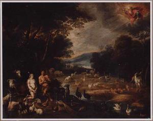 God roept Adam en Eva ter verantwoording voor hun zonde (Genesis 3:9:19)