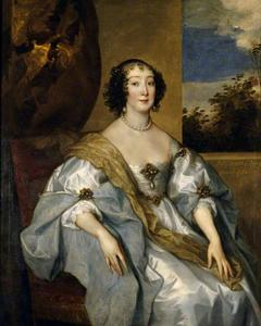 Portret van Dorothy Percy, Lady Sidney, Countess of Leicester (1598-1659)
