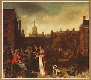 Groentemarkt in Den Haag