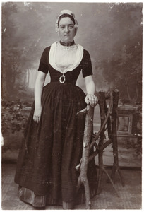 Portret van Leopoldina de la Bassecour Caan (1877-1911)
