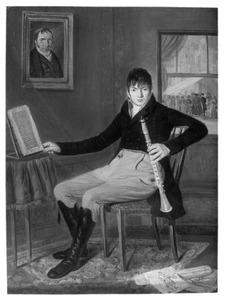 Portret van een man, waarschijnlijk Xaverius Philippus Christiani (1787-1867)
