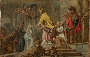 De eerste tempelgang van Maria (Lucas 2:22-40)