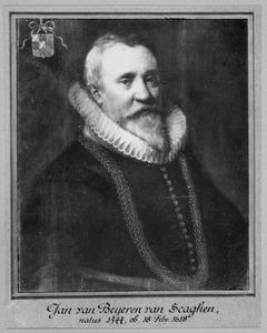 Portret van Johan van Beyeren van Schagen (1544-1618)