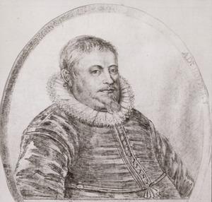 Portret van Adrianus Hoffer (1589-1644)