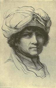 Tronie van een man met een tulband