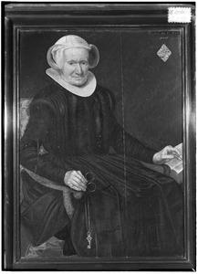 Portret van een vrouw, mogelijk uit het geslacht Van Ham