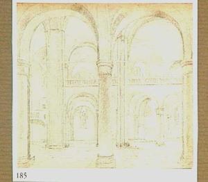 Interieur van de Mariakerk in Utrecht