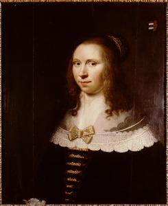 Portret van Machteld Pauw (1613-1673)