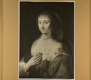 Portret van Eleonora Maurice van Portugal (1609-1679), dochter van Emilia van Nassau en Emanuel van Portugal