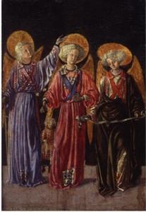 Drie Aartsengelen met de kleine Tobias