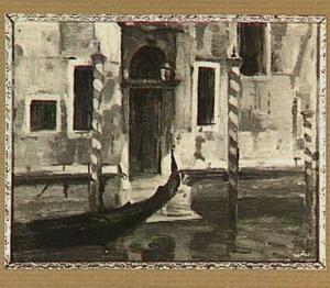 Venetië, Canal Grande met gondel