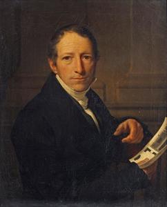 Portret van Hendrik de Valk (1774-1833)