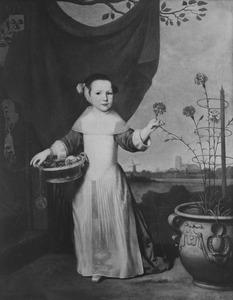 Portret van Anna Rees (1642- )