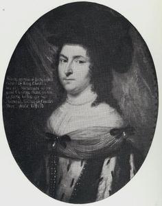 Portret van Hedevig Ulfeldt (1626-1678), vrouw van Ebbe Ulfeldt en dochter van Christiaan IV
