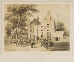 Gezicht op kasteel Doorwerth