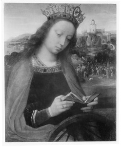 De H. Catharina van Alexandriè