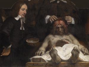 De anatomische les van dokter Joan Deyman