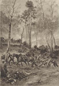 Gevecht tijdens de Frans-Duitse oorlog