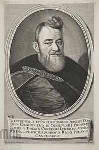 Portret van Jerzy Ossoliński, raadsman van het koningshuis, politicus en diplomaat (1595-1650)