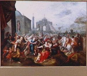 De roof van de Sabijnse maagden (Livius)