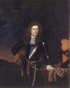 Portret van een onbekend lid van de familie Aldringa op jeugdige leeftijd