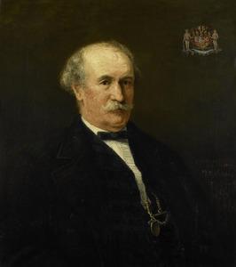 Portret van Menno David van Limburg Stirum (1807-1891)