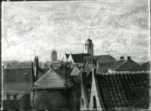 Gezicht op Katwijk