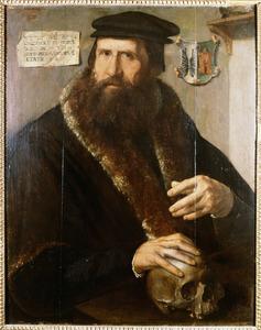Portret van Pieter Jansz. Gaeff genaamd Spiegel ( -1581)