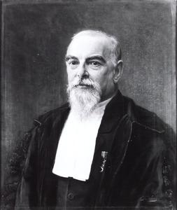 Portret van Hendrik Jacob Hamaker (1844-1911)