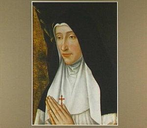 Portret van een non