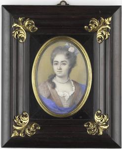 Portret van Henrietta van Pee (1692-1741)