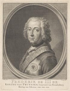 Portret van Friedrich II 'de Grote', koning van Pruisen (1712-1786)