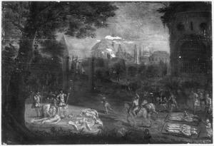 De marteldood van de Londense kartuizers in 1535