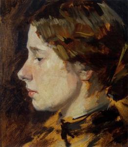 Portret van Wijnanda Helena Rode (1880-1954)