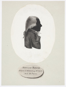 Portret van Servaas Bomme (1767-1856)