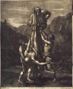 Kruisiging van Sint Peter