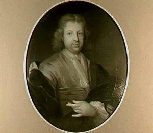 Portret van mr. Hendricus Francken, advocaat in Dordrecht