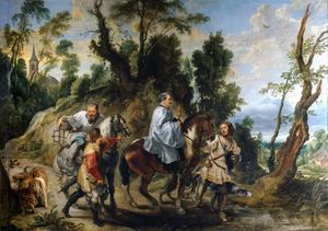 Rudolf van Habsburg en de priester