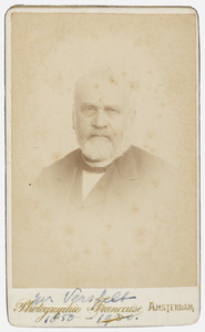 Portret van Johan Versfelt (1805-1874)