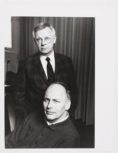 Portret van Geert van Beijeren en Adriaan van Ravesteijn