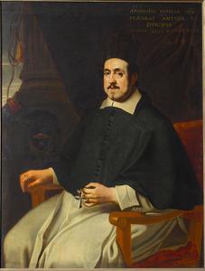 Portret van de bisschop Marius Ambrosius Capello (1597-1676)