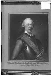 Portret van Albrecht Nicolaas van Aerssen Beijeren (1723-1805)