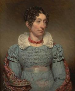 Portret van Alida Gerbade (1778-1829)