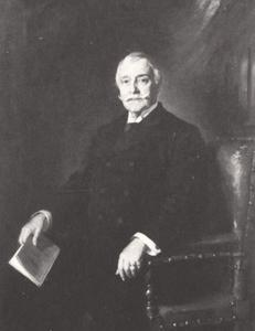 Portret van Louis Bartholomeus Johannes Moor (1837-1931)