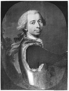 Portret van een man, mogelijk Hendrik Carel van Nassau-la Lecq (1696-1781)